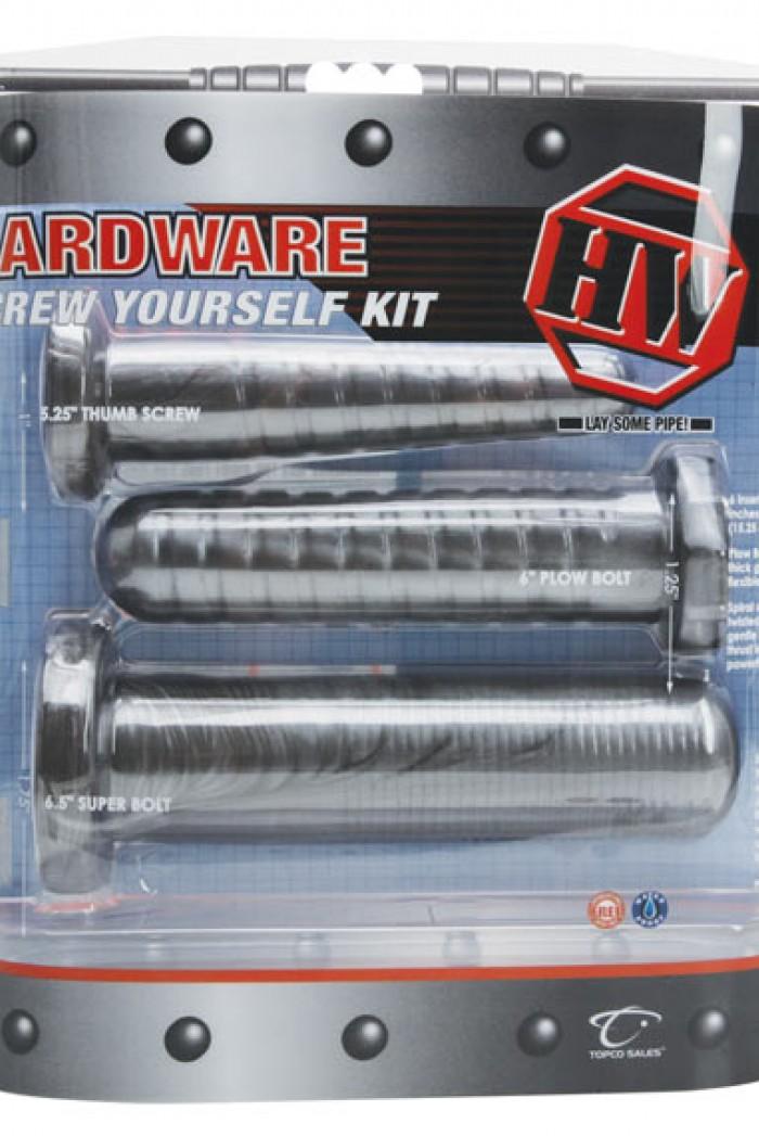 Originální dildo silikon - sada šroubů - SCREW YOURSELF KIT