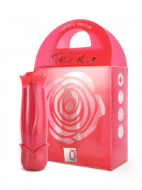 Mini vibrátor FunZone Bloomig Red Rose