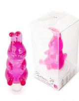 Mini vibrátor FunZone Bunny - Růžová