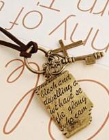 Mosazný sexy náhrdelník - Love Letter