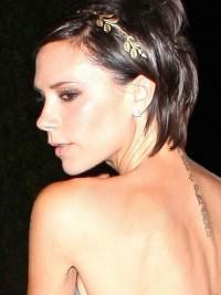 Zlatá čelenka do vlasů - Leaf