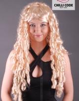 Párty paruka Extra Curly - Blond
