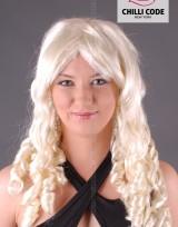 Párty paruka Blond Waves - Blond