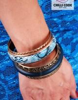 Sada náramků - Blue Snake