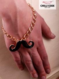 Sexy náramek - Moustache