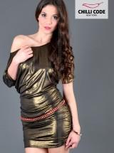 Sexy šaty, tunika Sparkle - Zlatá