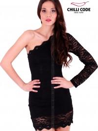 Krajkové šaty Mini dress - Černá