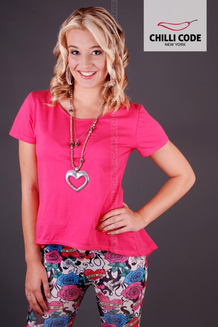 Dámské triko Elegant - Růžová