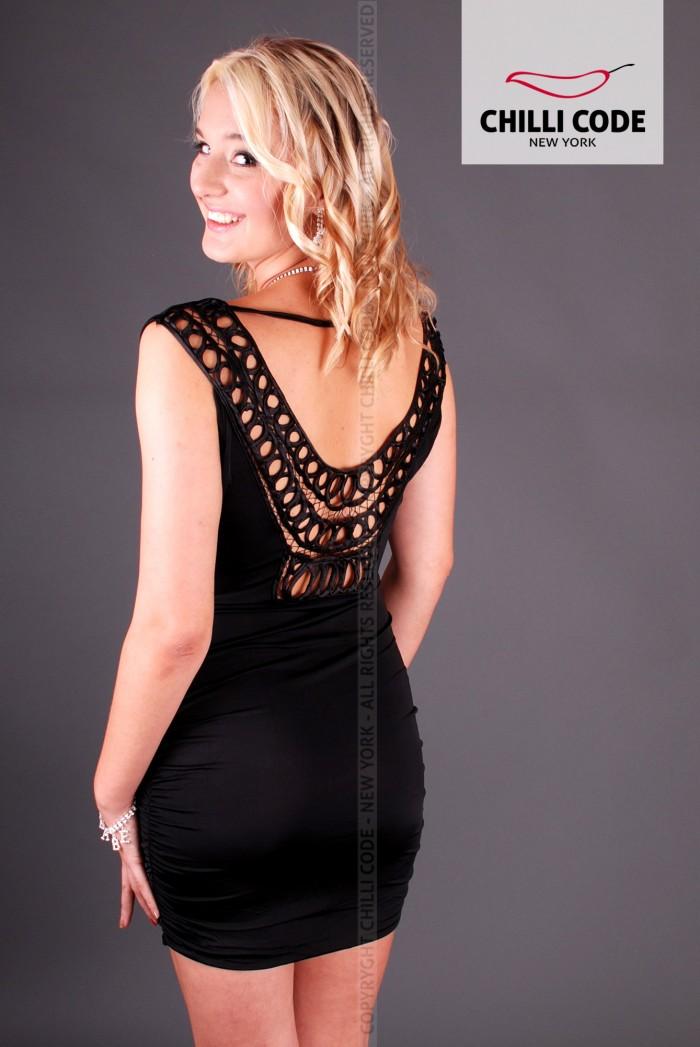 Sexy šaty Fancy - Černá