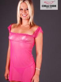 Dámská noční košilka Lucid - Růžová