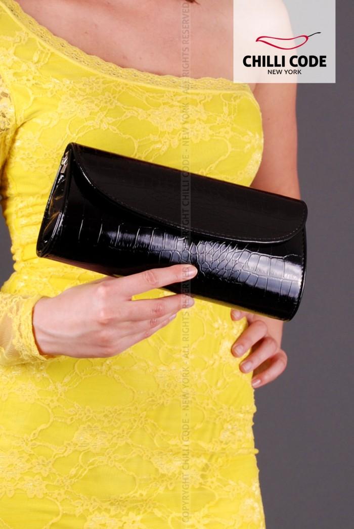 Dámské psaníčko, kabelka Elegant - Černá