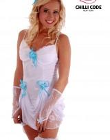 Sexy svatební kostým - Nevěsta Nicollete