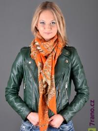 16240150e42 Maxi šátek - Oranžová