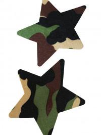 Lepítka na bradavky Stars - Camouflage