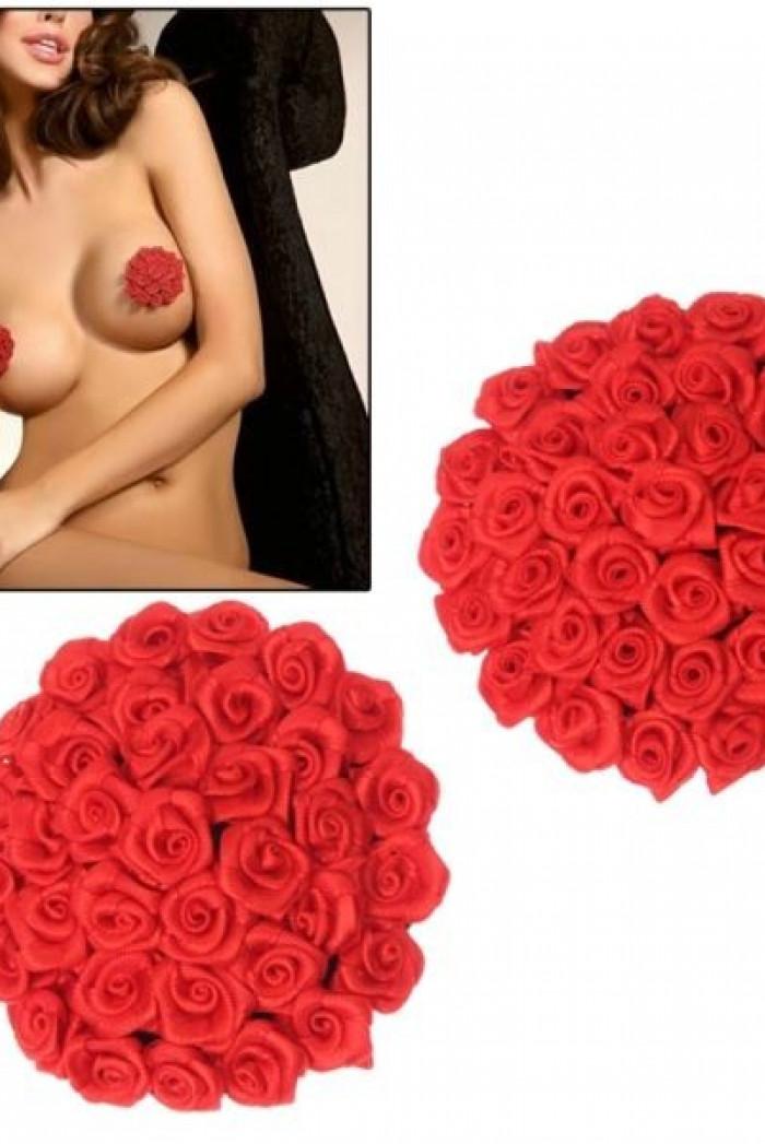 Lepítka na bradavky Red Rose