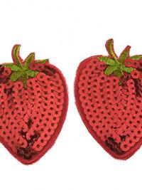 Flitrová lepítka na bradavky Strawberry
