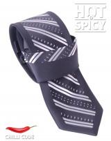Úzká kravata slim - Černá Bench
