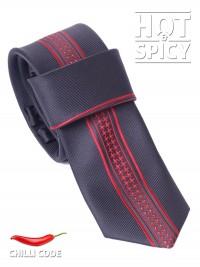Úzká kravata slim - Černá Mark