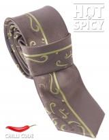 Úzká kravata slim - Zelená Stem