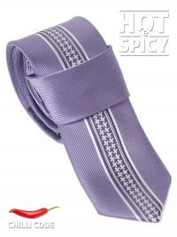 Úzká kravata slim - Šedá Mark