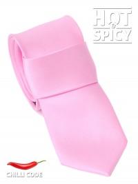 Úzká kravata slim - Růžová Wholly