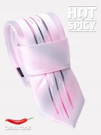 Úzká kravata slim - Růžová Variety