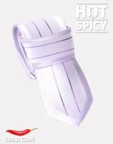Úzká kravata slim - Violet college