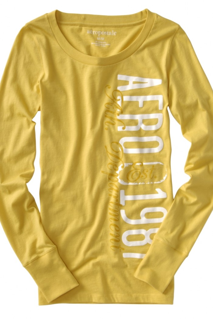 Dámské triko Logo Graphic - Žlutá