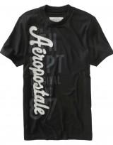 Pánské triko Vertical Logo Graphic - Černá