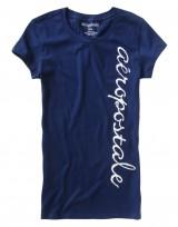 Dámské triko Graphic T - Modrá