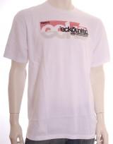 Pánské triko Full Of Lines - Bílá