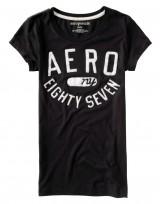 Dámské triko Aero Felt Graphic - Černá