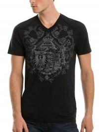 Pánské triko Sullivan - Černá