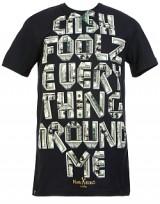 Pánské triko Marc Ecko Cash Foolz - Černá