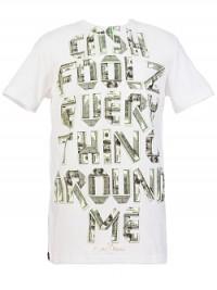 Pánské triko Marc Ecko Cash Foolz - Bílá