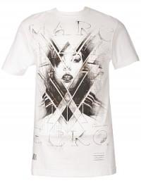 Pánské triko Girl Prism - Bílá