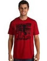 Pánské triko Low Down - Červená