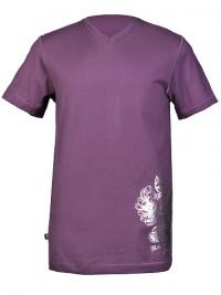 Pánské triko Crest - Fialová