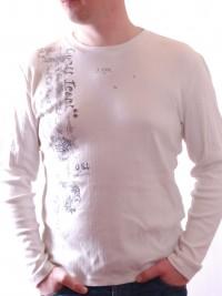 Pánské triko Leslie Jersey - Béžová