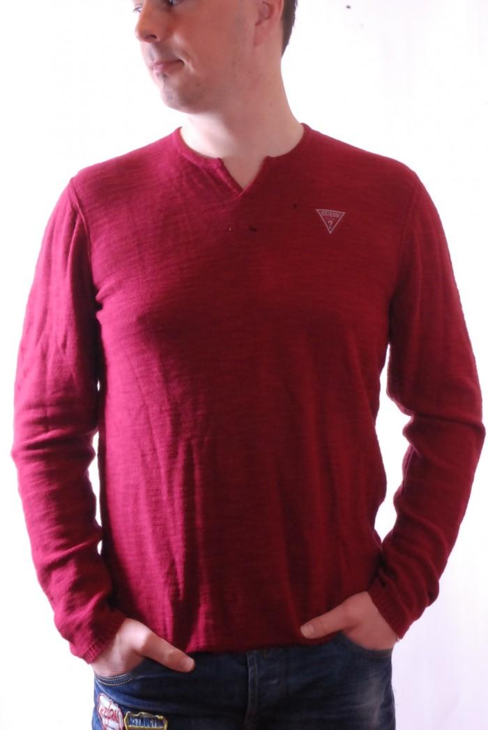 Pánské triko  Brea Slit - Vínová