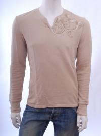 Pánské triko CAPRICA - Písková