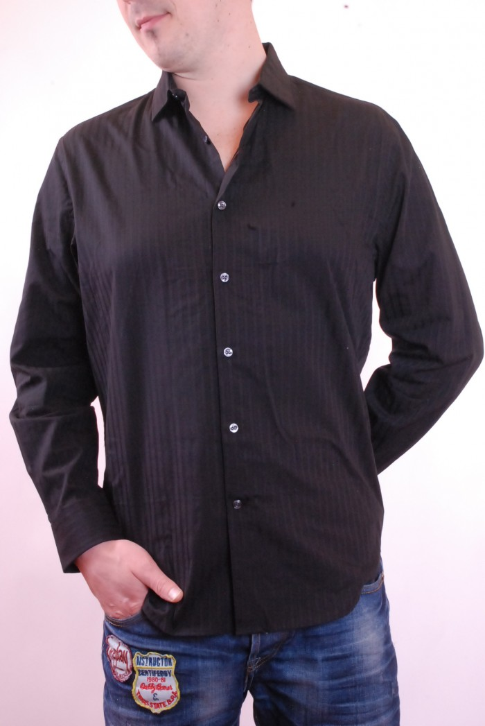 Pánská košile Perry Ellis - Černá