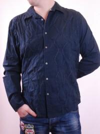 Pánská košile Vintage - Modrá