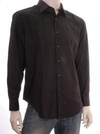 Pánská košile DKNY Slim Fit  - Černá