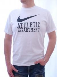 Pánské triko Department - Bílá