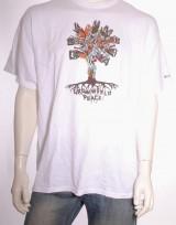 Pánské triko King Tree - Bílá