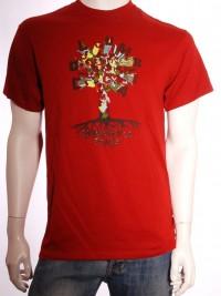 Pánské triko King Tree - Červená