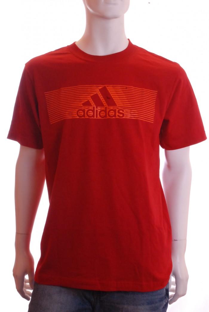 Pánské triko Tecpol - Červená
