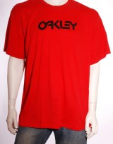 Pánské triko Retro Flocked - Červená