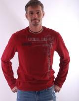 Pánské triko Rika - Červená
